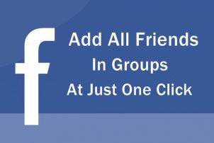 facebook一键加好友入群