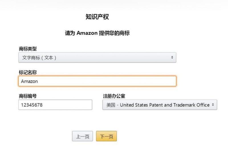 亚马逊品牌备案申请步骤 (3)