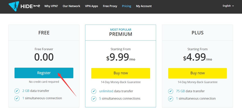 HideMe免费VPN (2)