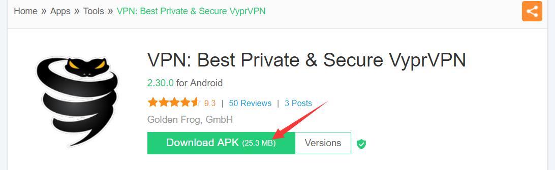 付费VPN推荐-VyprVPN 3-1