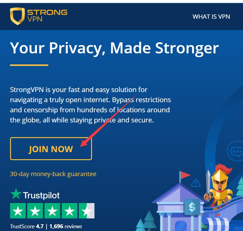 Strongvpn注册和使用教程 (1)
